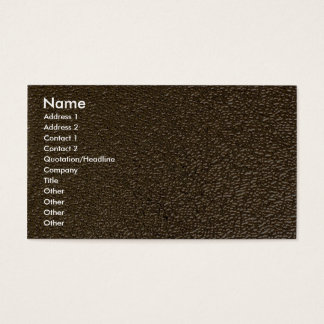 Unique Embossed gold Business Card
