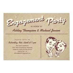 Unique Engagement Party Invitations Announcements Zazzlecomau