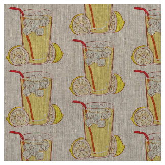 Unique fabric  Lemonade  Lemon