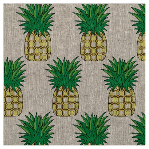 Unique fabric pineapple