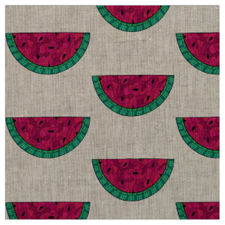 Unique fabric  watermelon pink