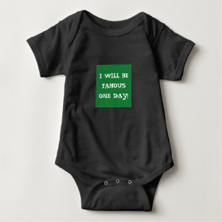 Unique FAMOUS bodysuit for aspiring youngsters!