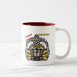 Unique Father-in-law Fathers Day Gifts Two-Tone Mug