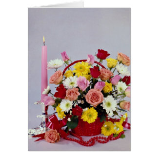 Unique Floral still life Greeting Card