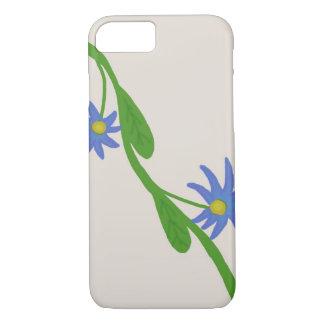 Unique Flower Vine Illustration iPhone 7 case