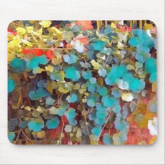 Unique forest floor colors mouse pad