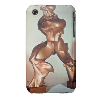 Unique Forms of Continuity in Space, 1913 (bronze) iPhone 3 Cases