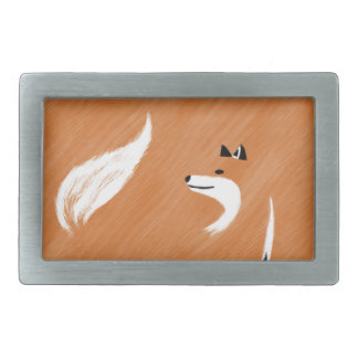 Unique Fox Design Belt Buckle