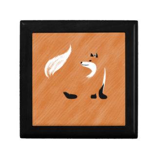Unique Fox Design Gift Box