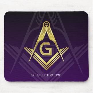 Unique Freemason Gift Ideas   Personalized Masonic Mouse Pad