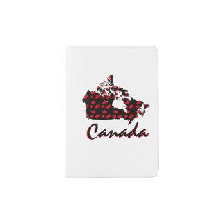 Unique fun Canadian Maple Canada pass port holder