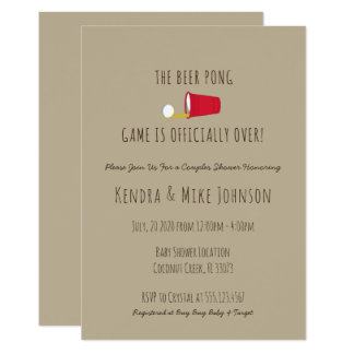 Funny Baby Shower Invitations Announcements Zazzlecomau