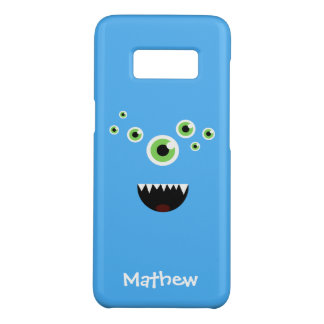 Unique Funny Crazy Cute Blue Monster Case-Mate Samsung Galaxy S8 Case