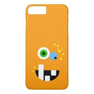 Unique Funny Crazy Oragne Monster iPhone 8 Plus/7 Plus Case