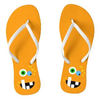 Unique Funny Crazy Oragne Monster Thongs