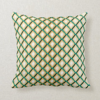 Unique Geometric Diamond Design Throw Pillow