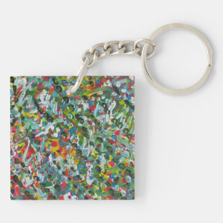 Unique Gifts - Square (double-sided) Keychain