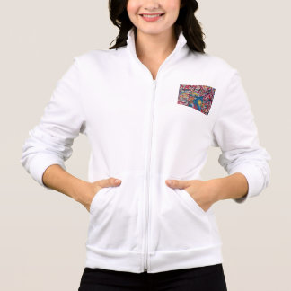 Unique Gifts - Women's Zip Jogger Printed Jacket