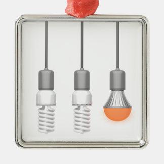 Unique glowing LED light Metal Ornament