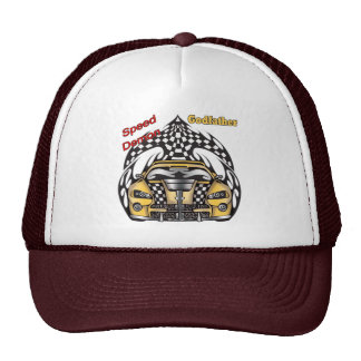 Unique Godfather Fathers Day Gifts Trucker Hat