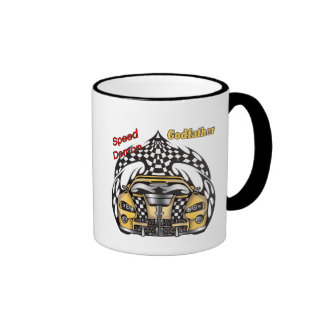 Unique Godfather Fathers Day Gifts Ringer Mug