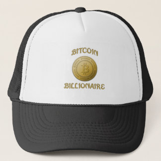 Unique Gold Bitcoin Logo Symbol Cryptocurrency Trucker Hat