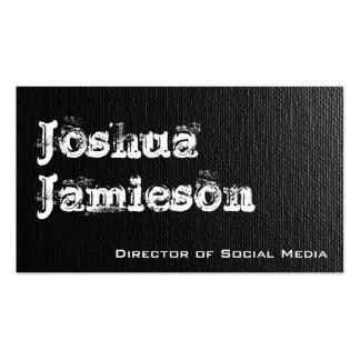 Unique Grey Modern Professional Business Cards