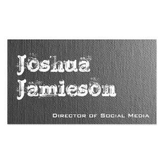 Unique Grey Modern Professional Business Cards Business Cards