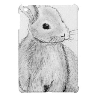 Unique Hand Drawn Bunny Cover For The iPad Mini