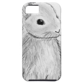 Unique Hand Drawn Bunny iPhone 5 Covers