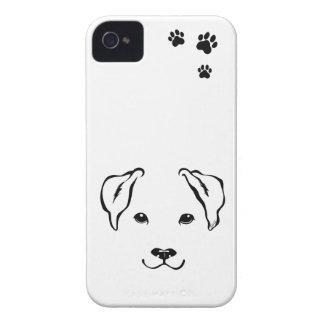 Unique Hand Drawn Dog iPhone 4 Slim Phone Case