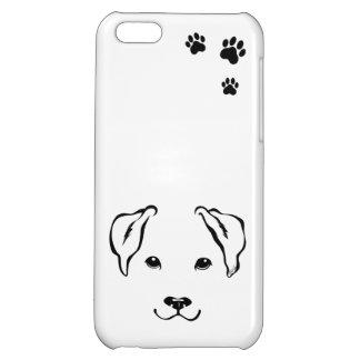Unique Hand Drawn Dog iPhone 5C Slim Phone Case
