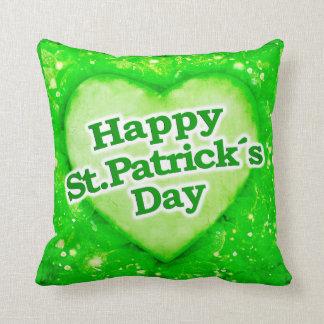 Unique Happy St. Patrick´s Day Design Cushion