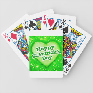 Unique Happy St Patrick´s Day Design Deck Of Cards