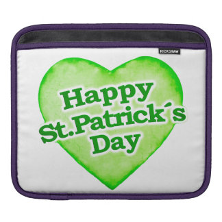 Unique Happy St. Patrick´s Day Design Sleeve For iPads