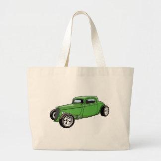 Unique Hot Rod Coupe Canvas Bag