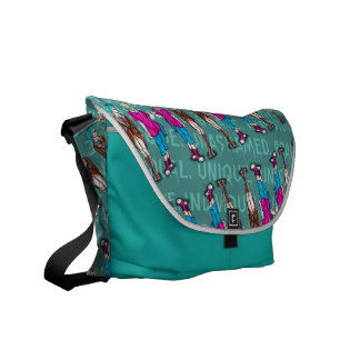 Unique individual messenger bag