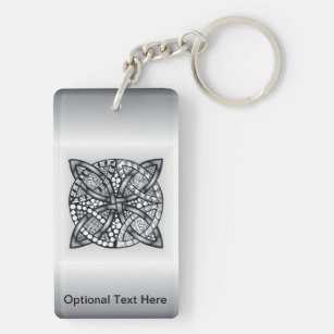 Unique Inspired Celtic Knot Key Ring