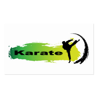 Unique Karate Pack Of Standard Business Cards