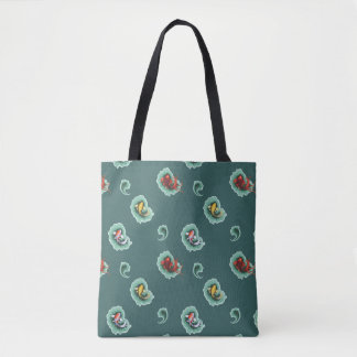 Unique Koi Paisley Pattern Tote Bag