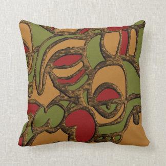 Unique Mayan Hieroglyphs Design Cushion