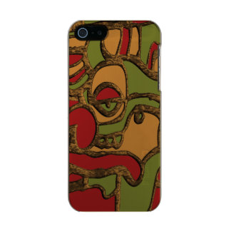 Unique Mayan Hieroglyphs Design Incipio Feather® Shine iPhone 5 Case
