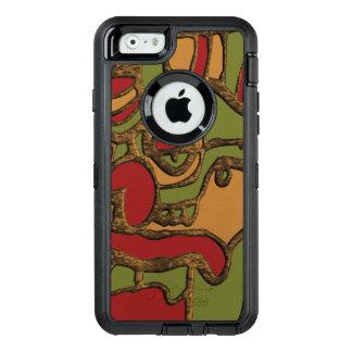 Unique Mayan Hieroglyphs Design OtterBox Defender iPhone Case