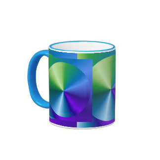 UNIQUE Metallic Disc ROM DVD Sparkle ebusiness Coffee Mug