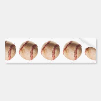 Unique Modern Baseball Art Bumper Sticker