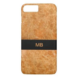 Unique Modern Monogram Style iPhone 7 Plus Case