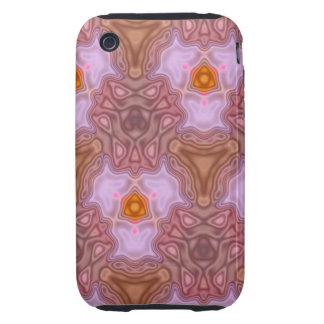 Unique modern pattern iPhone 3 tough cases