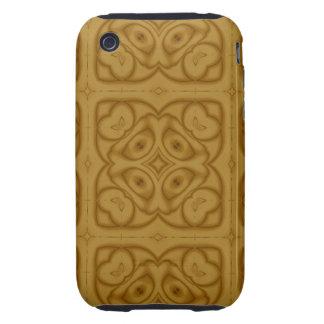 Unique Modern Pattern iPhone 3 Tough Cover