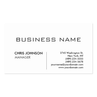 Unique modern professional design business card