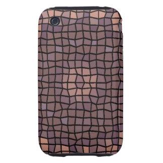 Unique mosaic pattern iPhone 3 tough cover